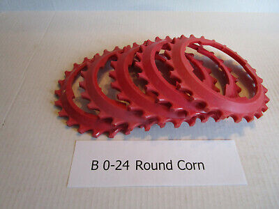 Used Lustran Corn Plates For Round Seeds Used In John Deere 71 Planters