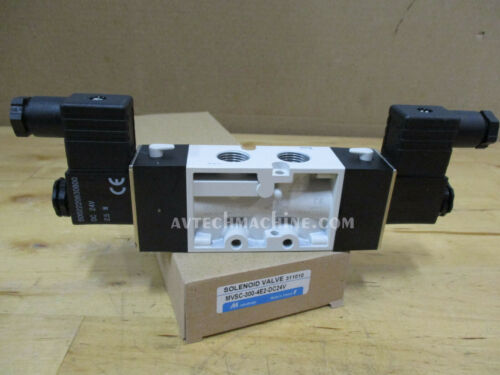 Mindman Pneumatic Solenoid Valve Coil DC24 MVSC-300-4E2