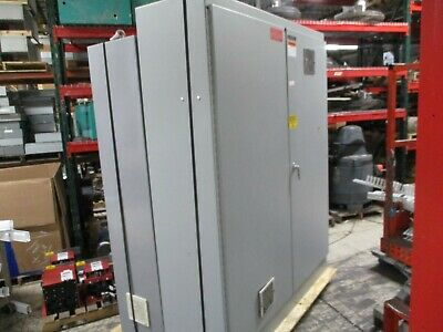 Hoffman Type 12 Enclosure A-907220fsd 2-door Size 90x72x20 Used