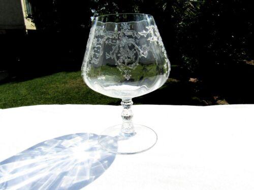 "Crystal Clear Fostoria Navarre Brandy Inhaler Glass 5½"""