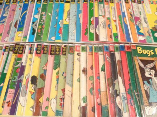 Lot of 50 Bugs Bunny #32-173 Dell 1953-1976 Elmer Fudd Porky Pig Gold Key