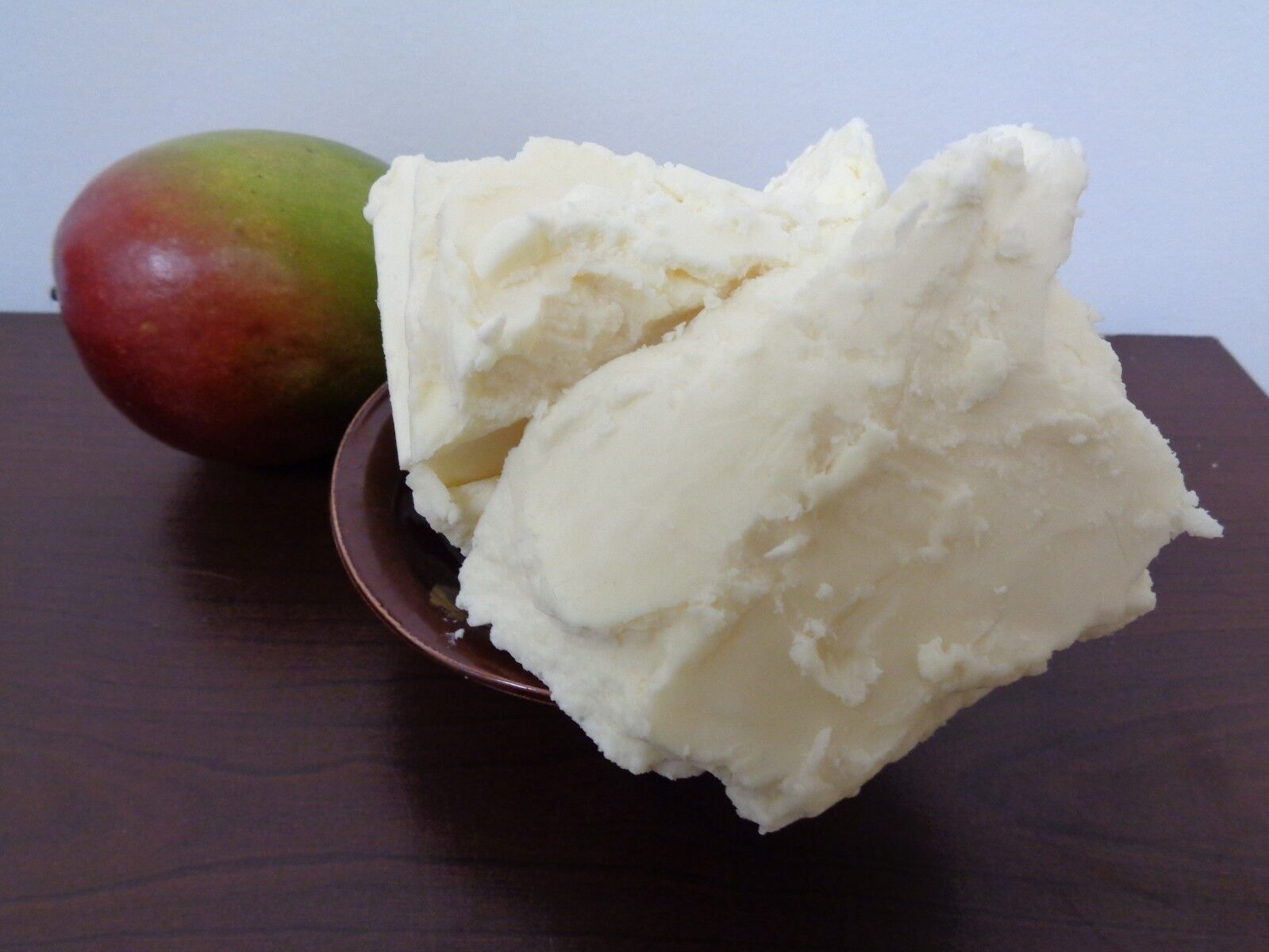 как выглядит Raw MANGO BUTTER Unrefined Organic 100 Pure Premium Quality - Choose Size фото