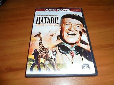 Hatari (DVD, 2001, Widescreen)  John Wayne Used