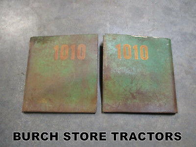 Pair Of Front Side Panels For John Deere 1010 Tractors