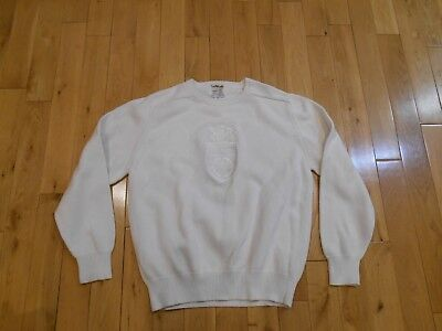 Vintage La Mode Philip Morris Invitational Tennis Sweater Mens Large Usa Made