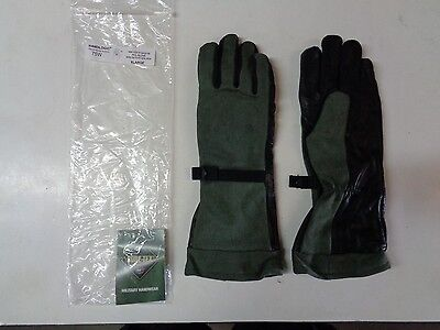 New Handlogic Gore-tex Pol Fuel Handlers Leather Glove 75w X-large Sage Green Xl