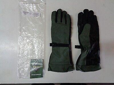 New Handlogic Gore-tex Pol Fuel Handlers Leather Glove 75w X-large Sage Green Xl