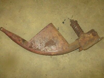 1940 Farmall H M Early Flip Seat Mount Frame With Tool Box Antique Tractor