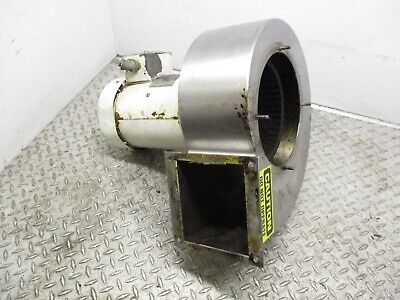 Leeson Squirrel Cage Blower C6t34fwc5b - 3hp - 208-230460v - 3450 Rpm