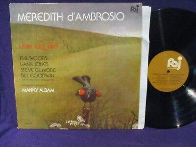 Meredith d'Ambrosio Little Jazz Bird LP EX to NM