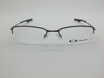 New Authentic OAKLEY WINGBACK  OX5089-0553 Pewter Titanium 53mm Rx Eyeglasses