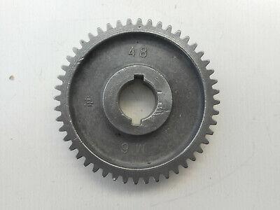 Atlas Craftsman 6 Metal Lathe 48 Tooth Gear M6 48