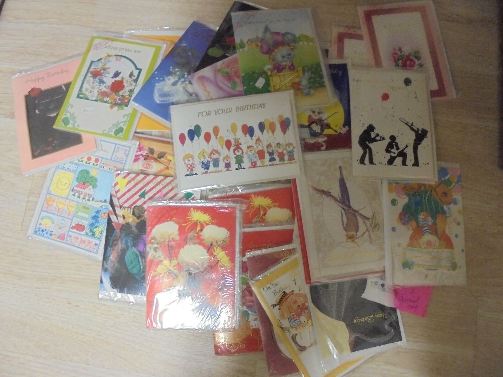 36x Assorted Monet Painting All Occasion Greeting Cards w// Envelopes