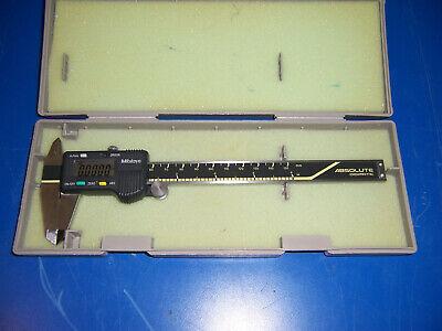 12135 Mitutoyo 500-196 6 Caliper Cd-6 Cs