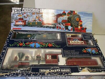 Bachmann White Christmas Express Train Set G Scale