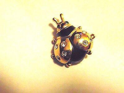 Ladybug Pin by Roma - Good Luck Piece