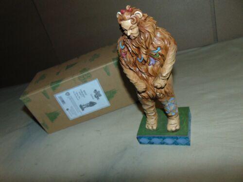 WIZARD OF OZ JIM SHORE 4031512 COWARDLY LION IN ORIGINAL BOX...