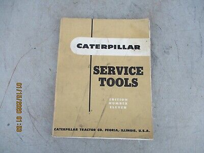 Cat Caterpillar Service Tools Manual Edition Number Eleven