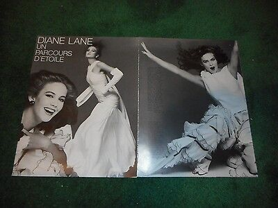 DIANE LANE - 12-PAGE FRENCH MAGAZINE PHOTO ARTICLE - 1980s