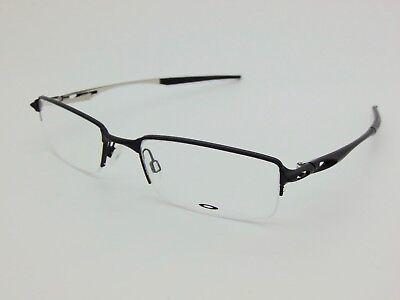 NEW Authentic OAKLEY HALFSHOCK OX3119-0153 Satin Black 53mm Rx Eyeglasses