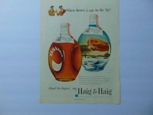 1951 HAIG & HAIG Don