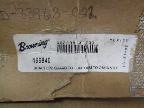 BROWNING NSS840 40 TOOTH PITCH STEEL GEAR - NEW - FREE SHIPPING!