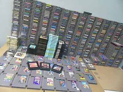 NES Nintendo The Complete Collection Video Game Console System Lot