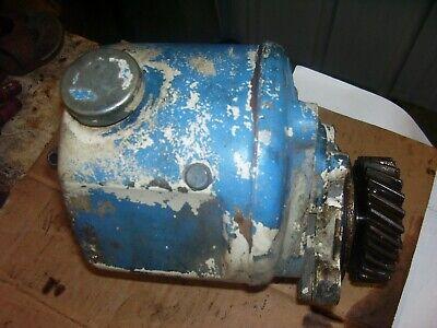 Vintage Ford 3600 Gas Tractor - Plessy Power Steering Pump Gear -1976