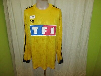 AS Nancy Adidas Langarm Ausweich France-Cup Trikot 1989/90