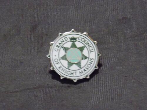 Masonic Grand Council of Knight Masons York Rite Fraternity Tac Pin Lapel NEW!