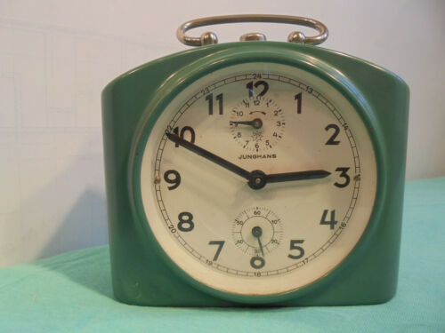 Old Alarm Clock From JUNGHANS With Repetition
