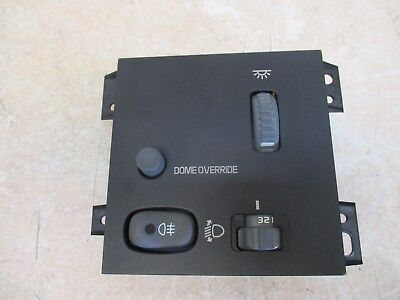 NEW 2003 CHEVY S10 BLAZER SONOMA DASH FOG LIGHT LAMP DIMMING CONTROL SWITCH OEM