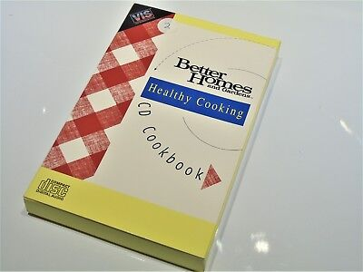 Complete Healthy Cooking Better Homes VIS Tandy Memorex Video Game System