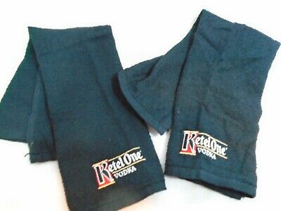 Black Ketel One Vodka 17x11 Lightweight Bar Towel Rag Set of 2 comprar usado  Enviando para Brazil