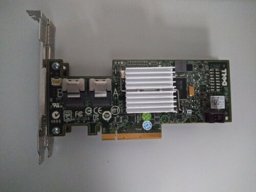 DELL H200 FLASHED LSI 9211-8i IT MODE P20 SAS2008 ZFS UNRAID TRUENAS WINDOWS PC