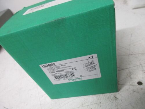 SCHNEIDER ELECTRIC LRD4369 THERMAL OVERLOAD RELAY 110-140A-CLASS NEW