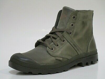 Palladium Men's Pallabrouse lea 2 Leather Combat Boots Brand New