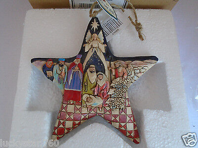 2008 Jim Shore Nativity Star Hanging Ornament  NEW!!