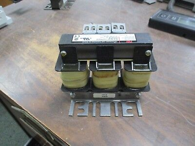 Tci Klr Series Line Reactor Klr12atb 3ph 60hz 600v 12a Used