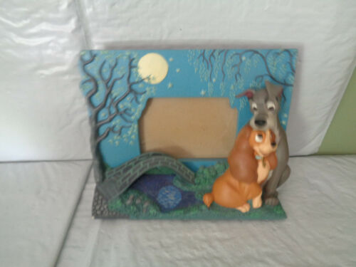 """Disney - Lady & The Tramp -Table Top - 3D Picture / Photo Frame  (3 x 4.5"""")"""