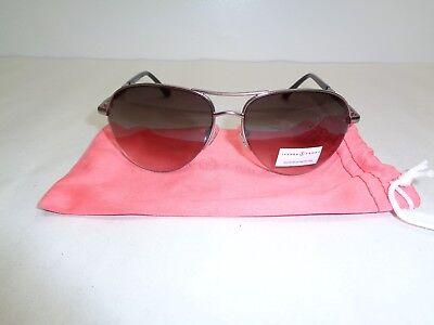 Ivanka Trump IT 015 30 Gunmetal Aviator Fashion Sunglasses New Womens Eyewear