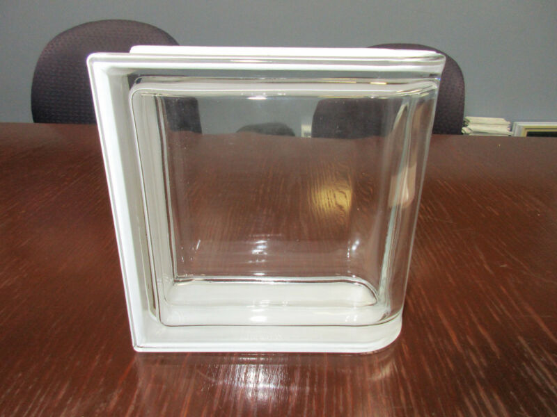 Neutro (Clear) Smooth Pegasus Linear End Metric Glass Blocks (5 Pack)