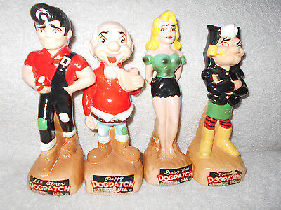 1975 Capp Enterprises Lil Abner Dogpatch 7  Banks Abner Daisy Mae Pappy Mammy