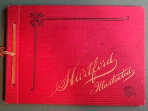 1891 Hartford Illustrated Connecticut Souvenir Photographs Book Mark Twain Colt
