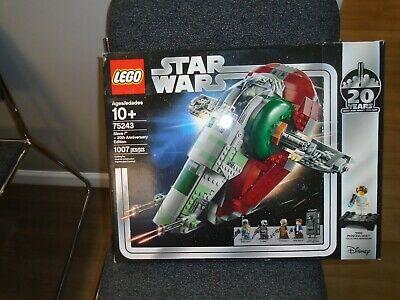 LEGO STAR WARS Slave I 75243 20th Anniversary Brand New in Sealed Box