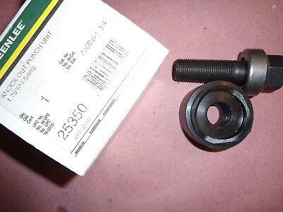 Greenlee 25350 1.75 Round Hydraulic Knockout Punch Die Set 730bb