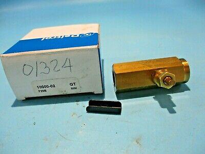 New Deltrol F20b Flow Control Valve 14 10000-02