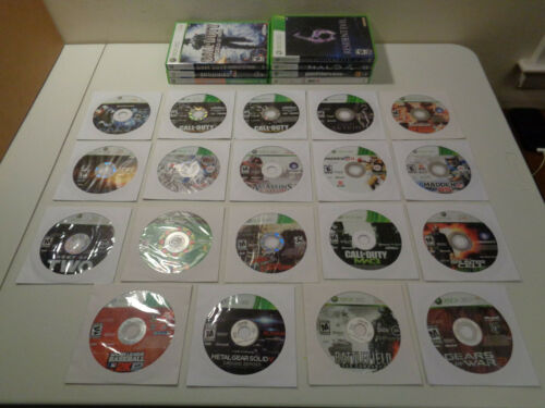 Microsoft XBox 360 Games - Lot Of 24