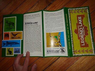 Brochure for Legend Lake Keshena Wisconsin