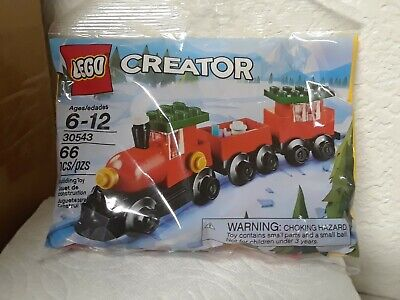 CREATOR LEGO HOLIDAY TRAIN 30543 66 PIECES & LEGOLAND COUPON